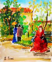 Lino Fissi - Nel parco