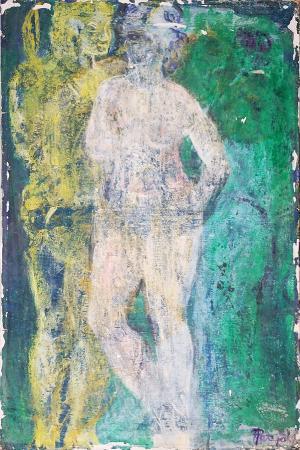 Quadro di Roberto Panichi Nudo  - Pittori contemporanei galleria Firenze Art
