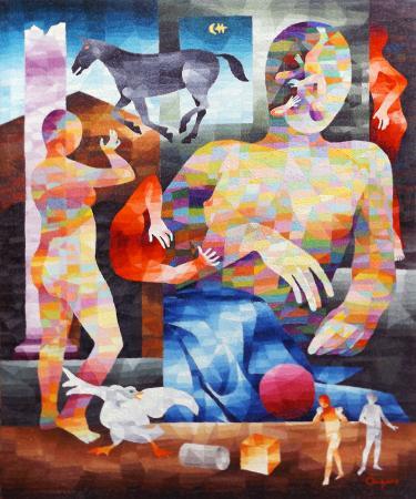 Quadro di Alessandro Ongaro 723 - olio tela