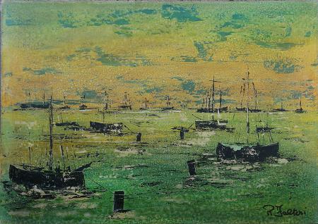 Art work by Falteri  Renato  Senza titolo - oil canvas