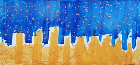 Quadro di Andrea Tirinnanzi Senza titolo - acrilico tavola