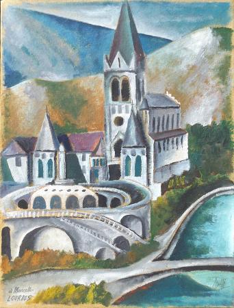 Artwork by Marcello Scuffi, oil on linen paper | Italian Painters FirenzeArt gallery italian painters