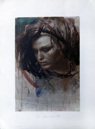 Quadro di Pietro Annigoni Rosella 3 - stampa carta