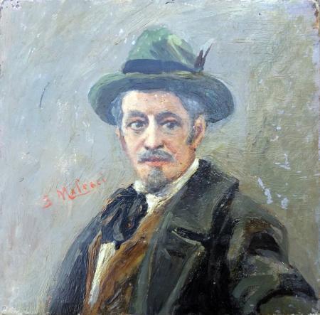 Quadro di Salvatore  Malesci Ritratto - olio tela