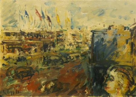 Quadro di Emanuele Cappello Trionfo - olio tela