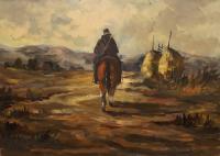 Domenico Seloski - Uomo a cavallo