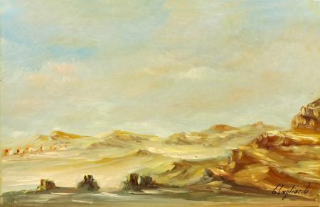 Quadro di Giuseppe Gagliardi Tiriolo - olio cartone telato