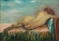 F Mazzoncini - Nudo sdraiato
