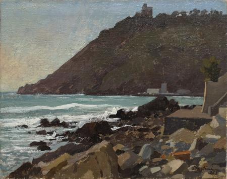 Art work by U.  Bertini Castiglioncello  - oil canvas