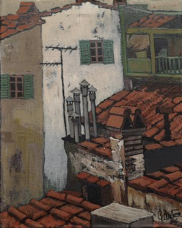 Art work by Gianfranco Antoni Tetti - oil canvas