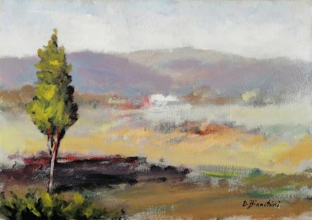 Artwork by Umberto Bianchini, mixed on canvas | Italian Painters FirenzeArt gallery italian painters
