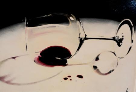 Quadro di Paolo Lenti Gocce di felicità - olio tavola