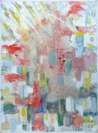 Quadro di Silvio Loffredo Casa - olio tela