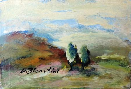 Quadro di Umberto Bianchini Valli - tempera tavola