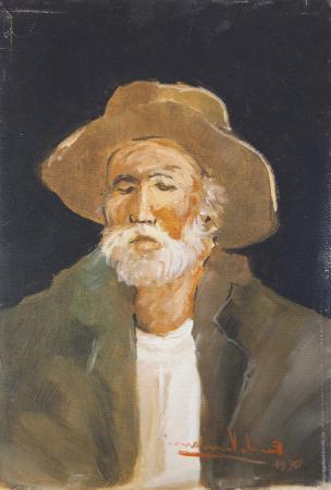 Quadro di Ernando Venanzi Ritratto - olio tela