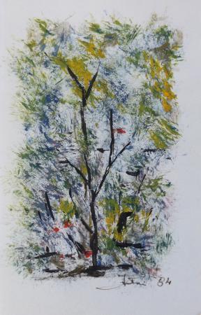 Art work by Dolly Falteri Alberi - acrylic paper