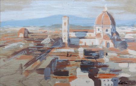 Quadro di Claudio Cionini Firenze - mista tavola