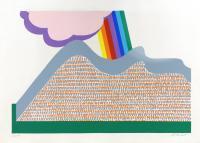 firma Illeggibile - Nuvole e arcobaleno