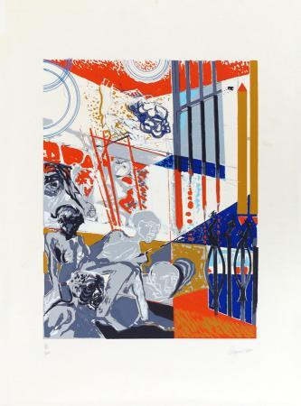 Quadro di Aldo Borgonzoni Senza titolo - Pittori contemporanei galleria Firenze Art