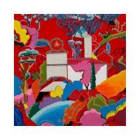 Luca Alinari - Paesaggio in rosso