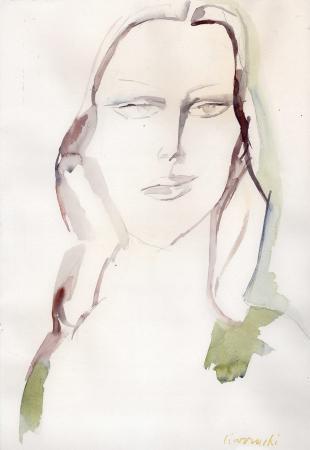 Artwork by Arnoldo Ciarrocchi, watercolor on paper | Italian Painters FirenzeArt gallery italian painters