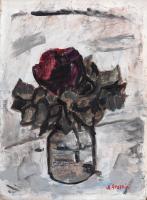 Renzo Grazzini - Vaso con rosa