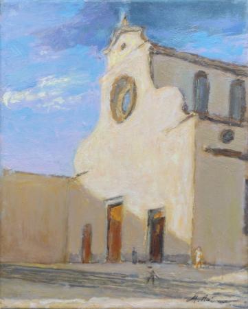 Quadro di M. Antonioni S. Spirito - olio tela