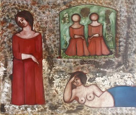 Quadro di Paolo Cassinelli Rowlia - olio tela