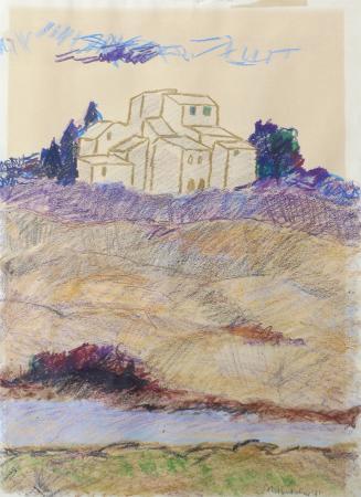 Quadro di Anna Maria Bartolini Paesaggio - Pittori contemporanei galleria Firenze Art