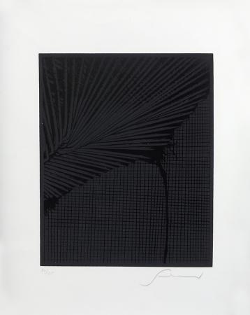 Quadro di Emilio Scanavino Senza titolo - litografia carta