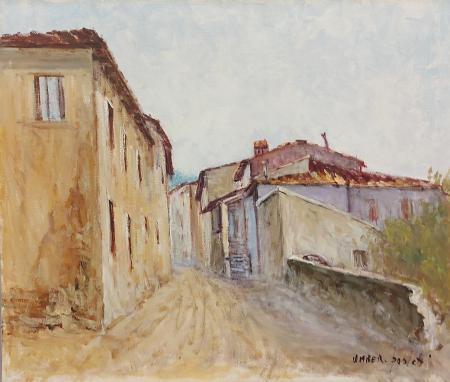 Quadro di Umberto Paoletti Case - olio tela