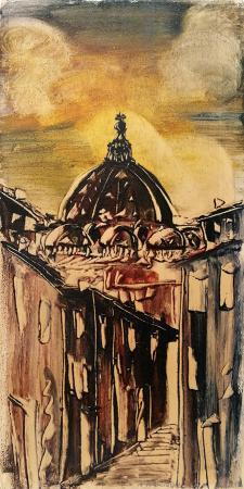 Quadro di Alfredo Nannoni Cappella - olio tavola