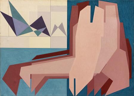 Art work by Gualtiero Nativi Persistenza della memoria - acrylic jute