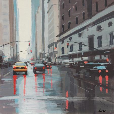 Quadro di Claudio Cionini Manhattan - mista cartone