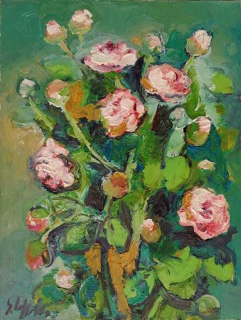 Quadro di Emanuele Cappello Gardenia - olio tela