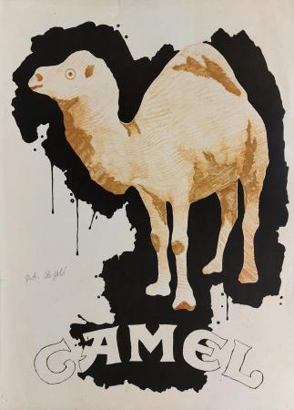 Art work by Fabio De Poli Camel - lithography paper