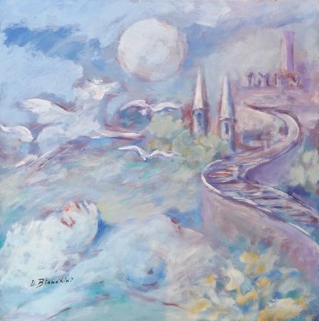 Quadro di Umberto Bianchini Mondo dei sogni - mista tavola