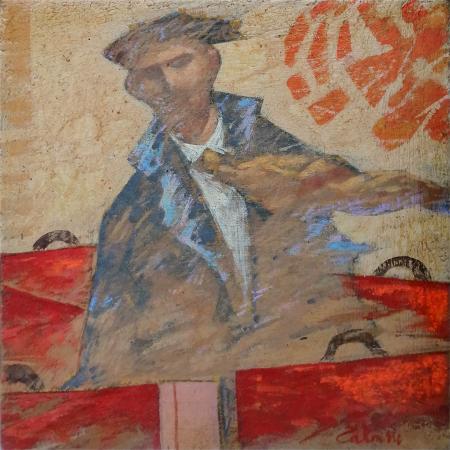 Quadro di Giampaolo Talani Studio per
