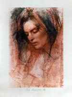Pietro Annigoni - Volto di donna
