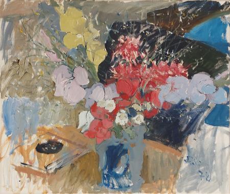 Quadro di Bruno Paoli Fiori - olio tela