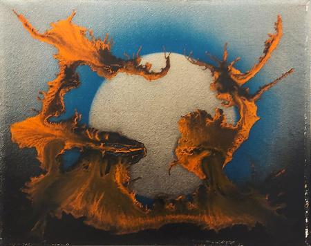 Quadro di  Mila Astratto - olio tela