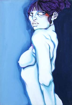 Art work by Natale Filannino Nudo - oil canvas
