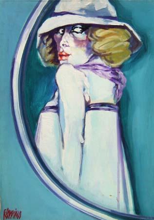 Art work by Natale Filannino Figura - oil canvas