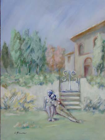 Quadro di Umberto Bianchini Relax - mista tela