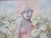 Work of Umberto Bianchini - Esterno mixed canvas