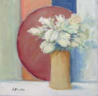 Quadro di Umberto Bianchini - Vaso con fiori mista tela