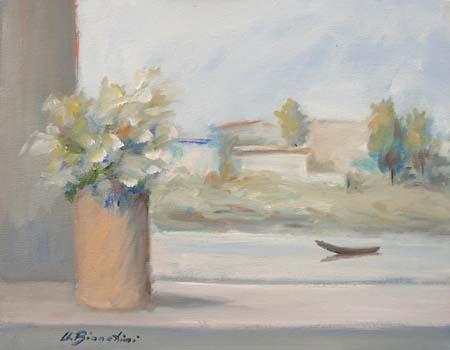 Art work by Umberto Bianchini Riva - oil canvas