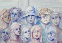 Work of Umberto Bianchini  In compagnia