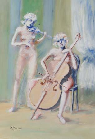 Quadro di Umberto Bianchini Concertino - mista tela