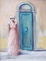 Quadro di Umberto Bianchini - La porta della speranza mista tela